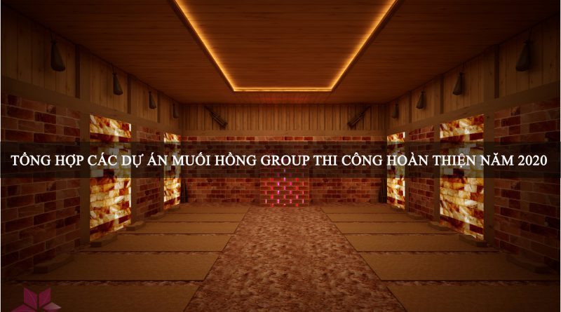 Nam 2020 Muoi Hong Group da thi cong va hoan thien nhung du an sau