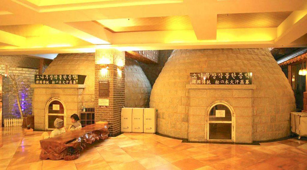 Tam hoi tap the tại spa Jjimjilbang Han Quoc 3