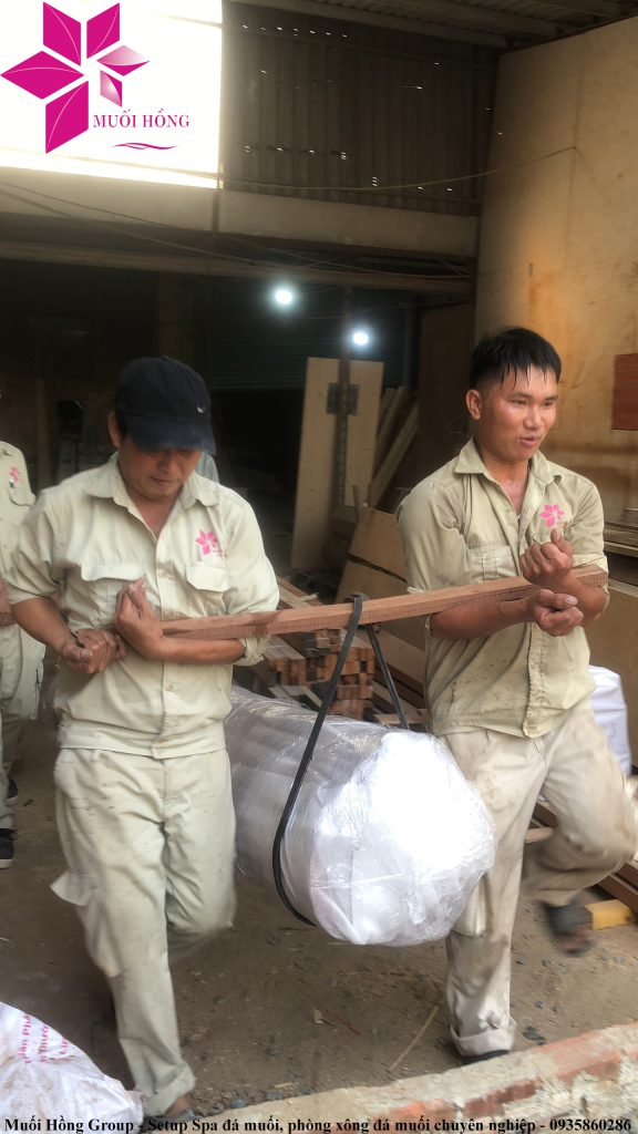 Trien khai thi cong khu xong hoi tại rex hotel quang binh 5