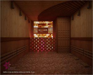 Thi cong khu xong hoi – massage tai Selegend Hotel 3