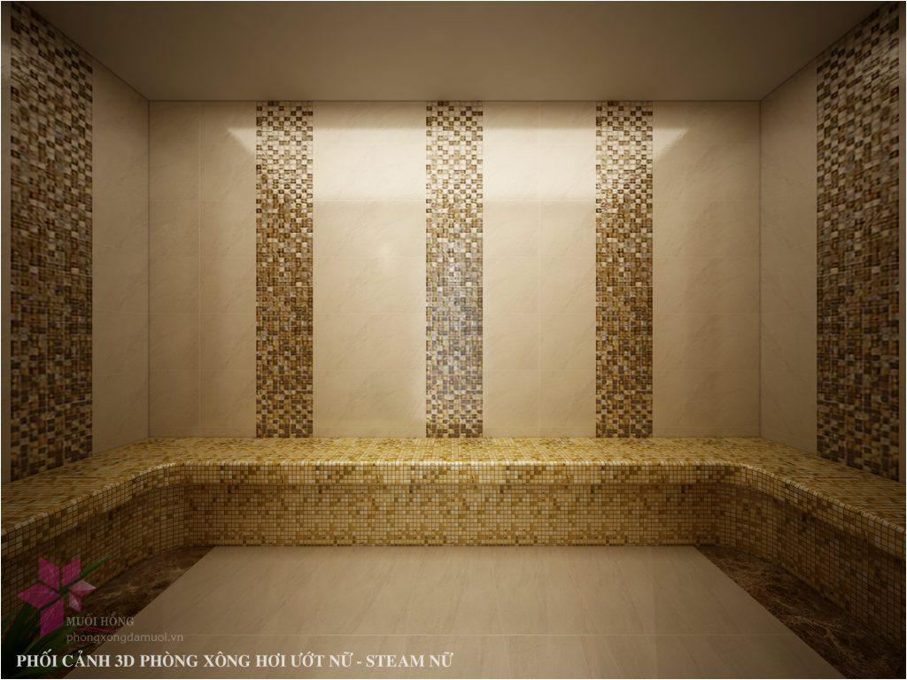 Thi cong khu xong hoi – massage tai Selegend Hotel 4