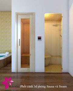 Thi cong khu xong hoi – massage tai Selegend Hotel 6